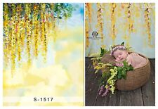 5x7ft Vinyl Photography Backdrops Newborn Baby Florets Background Studio Props