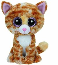 Ty Tabitha the Brown & White Cat Kitty Kitten Beanie Boos Stuffed Plush Toy