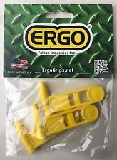 3 PACK EMPTY CHAMBER FLAG SHOW GUN SAFE EMPTY SMALLBORE .22 LR Long Rifle YELLOW
