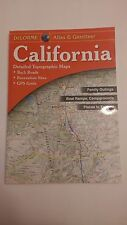 Delorme California CA Atlas and Gazetteer Topo Road Map Topographic Maps