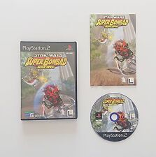 Game / Juego Star Wars Super Bombad Racing Sony Playstation 2 (Esp) (PS2)