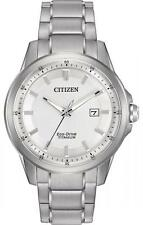 New Citizen Eco Drive Men's Super Titanium Bracelet Watch AW1490-50A