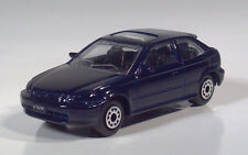 "Maisto Honda Civic Hatchback Coupe 2.75"" Die Cast Scale Model 1997 1998 1999"
