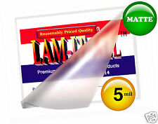 LAM-IT-ALL MATTE Small Menu Laminating Pouches 5 Mil 11-1/2 x 17-1/2 (25 pc)