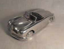 Collectible Polished Cast Aluminum Art Deco Convertible  Car 2 Seater Model