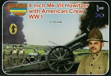 "Strelets 1/72 (20mm) WWI US 8"" Mk VII Howitzer with Crew"