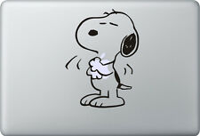 Apple MacBook Air Pro + SNOOPY LOVE + Aufkleber Sticker + Woodstock Decal Skin