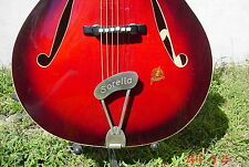 VINTAGE 1962 FRAMUS SORELLA ARCHTOP ACOUSTIC GUITAR SUNBURST GERMANY NEW CASE