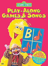 Sesame Street - Play-Along Games & Songs (DVD, 2005)                         9-2