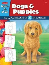 Draw and Color: Dogs & Puppies, Diana Fisher, The Creative Team at Walter Foster