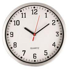 "KITCHEN WALL CLOCK 21cm 8"" QUARTZ MOVEMENT IN WHITE ACCTIM BENTIMA"