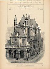 Eglise de L'Oratoire St Honoré à PARIS 1900 - Raguenet Architecture - 88