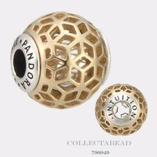 Authentic Pandora Essence Collection Silver & 14k Intuition Bead 796049 *LAST 1*