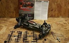 NEW 37076-3 TRAXXAS RUSTLER VXL ROLLER VXL CHASSIS WITH EXTRAS