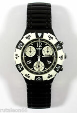SWATCH SCUBA AQUACHRONO SEB100 original Swiss made quartz watch. New old stock