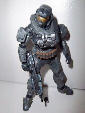 Halo Reach Series 6 **STEEL SPARTAN COMMANDO** Figure 100% Complete w/ Weapon!!