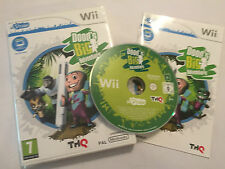 NINTENDO Wii uDRAW GAME DOOD'S BIG ADVENTURE +BOX INSTRUCTIONS / COMPLETE PAL