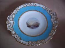 Royal Worcester Grainger hand painted landscape plate 1848-55 prize ware