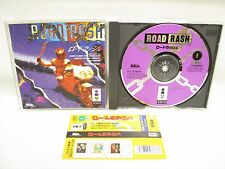 3do Real ROAD RASH with SPINE CARD * Panasonic Import Japan Game 3d