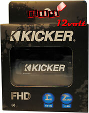 Kicker FHD AFS Dual Fuse Holder w/ (1) 1/0-8 Gauge Input & (2) 4-8 Gauge Output
