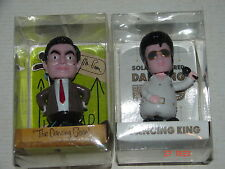 2 X SOLAR DASHBOARD NEW NOVELTY DANCING FLIP FLAP PAL  (1 Mr. Bean and 1 Elvis)
