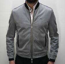 """DSQUARED² """"Silver Metallic Cool Guy"""" Bomber Jacket 48"""