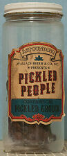 WALLACE BERRIE PICKLED PEOPLE Salesman Sample PICKLED GROUCH RUMPH Jiggler