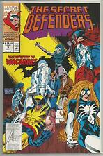 The Secret Defenders #3, Vintage Marvel comic book from May 1993