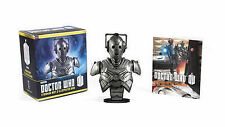 Doctor Who Cyberman Bust and Illustrated Book BRAND NEW by Running Press