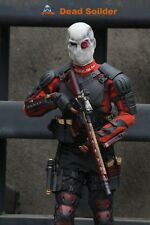 Dead Sucide Squad  Soldier Deadshot Will Smith 1:6 MIB