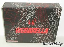 MONSTER HIGH SDCC WEBARELLA WYDOWNA SPIDER DOLL EMPTY OUTER PROTECTIVE BOX