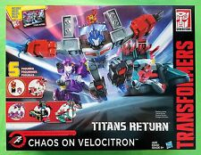 2017 TRANSFORMERS TITANS RETURN CHAOS ON VELOCITRON (IN-HAND) IMPOSSIBLE TO FIND