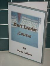 Knit Leader Course - 2 DVDs - NEW from Diana Sullivan