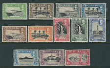SAINT LUCIA 1936 KGV PICTORIAL set complete (Scott 95-106) F/VF MH
