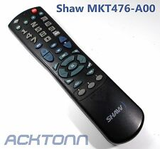 SHAW Universal Remote Control MKT476-A00 Used