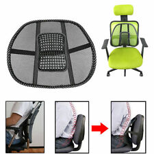 Cool Vent Massage Cushion Mesh Back Lumber Support Office Chair Car Seat Pad