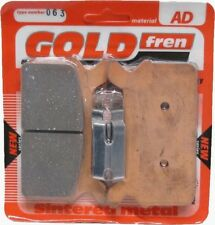 GOLDFREN AD REAR BRAKE PADS HARLEY DAVIDSON FLHRI 1340 ROAD KING 1996 - 1997
