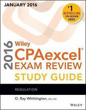 Wiley CPAexcel Exam Review 2016 Study Guide January: Regulation (Wiley Cpa Ex...