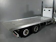 Custom made Aluminum Flat Bed Deck Section for Tamiya 1/14 RC King Grand Hauler