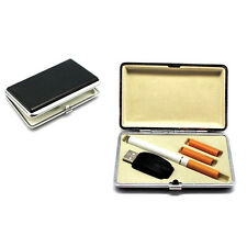 New PU Leather Cigarette Case Holder For Electronic Refill Cig Listing E Lites