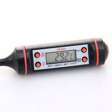 New 1.5V ℃/℉ Digital Probe Meat Thermometer Kitchen Cooking BBQ #9782