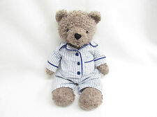 MINI MODE PLUSH STUFFED BEAR TEDDY SLEEPING PAJAMAS