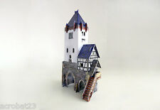 Building WATCH TOWER War Games Terrain Landscape Scenery Middle Ages 25-28 mm
