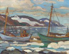 Banting Grant Frederick Sir Gaspe Quebec Canvas 16 x 20    #6808