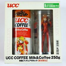 Kotobukiya Evangelion UCC Coffee Original Asuka Figure and Coffee can 250g