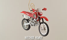 Custom Honda XR 250 R Christmas Ornament 1:24 Motorcycle XR250L XR250R CB750