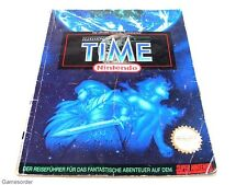 Illusion of time-jeux conseiller/guide super Nintendo snes #1