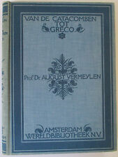 VAN DE CATACOMBEN TOT GRECO - HC BOOK IN DUTCH - PROF AUGUST VERMEYLEN