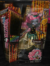 2014 NEW MONSTER BOO YORK A MONSTERRIFIC MUSICAL MOUSCEDES KING DOLL