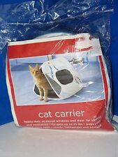 Easy Twist Tech Cat Carrier Portable Lightweight House Airline Safe Up To 25 lbs